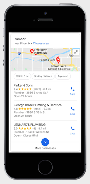 Local SEO - Ranking Your Business In The 3-Pack Of The Google Maps Mobile Search